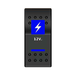 Тумблер 12V (тип A)