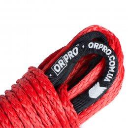 Синтетический (кевларовый) трос ORPRO 30м 10мм (красный, без крюка)