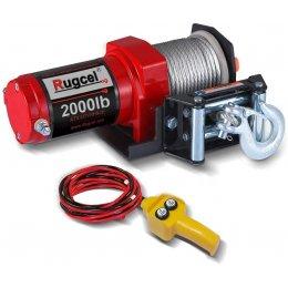Лебедка электрическая для квадроцикла Rugcel 2000