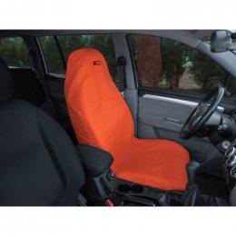 Чехол грязезащитный ORPRO на переднее сиденье (Оранжевый)