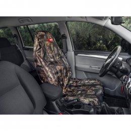 Чехол грязезащитный ORPRO на переднее сиденье (Осенний лес)