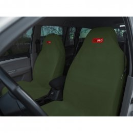 Комплект грязезащитных чехлов ORPRO на передние сиденья (Зеленый)