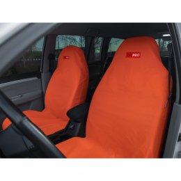 Комплект грязезащитных чехлов ORPRO на передние сиденья (Оранжевый)