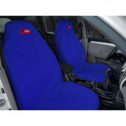 Комплект грязезащитных чехлов ORPRO на передние и заднее сиденья (Синий)