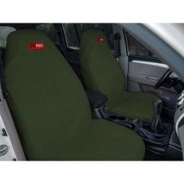 Комплект грязезащитных чехлов ORPRO на передние и заднее сиденья (Зеленый)