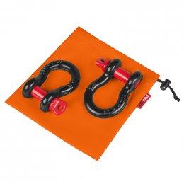 """Грязезащитный мешок ORPRO для шаклов 5/8"""" 200х200мм (Оранжевый)"""