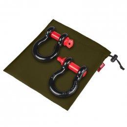 """Грязезащитный мешок ORPRO для шаклов 3/4"""" 250х250мм (Зеленый)"""