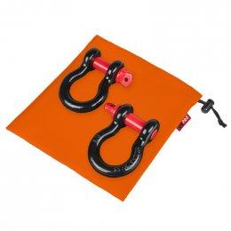 """Грязезащитный мешок ORPRO для шаклов 3/4"""" 250х250мм (Оранжевый)"""