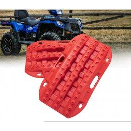 Компактные пластиковые сенд-траки (красные)