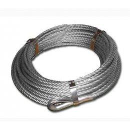 Трос стальной для лебедки 10мм х 24 метра