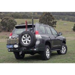 Задний бампер Kaymar с калитками Toyota LC Prado 150 2009-...
