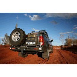 Задний бампер Kaymar с калитками Toyota Hilux 2005-...