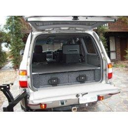 Комплект ящиков Outback Solutions в багажник для Toyota LC 100