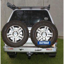 Задний бампер Kaymar VW Amarok 2010-...