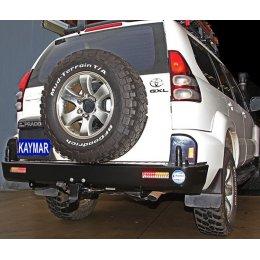 Задний бампер Kaymar Toyota LC Prado 120 2003-2009