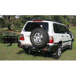 Задний бампер Kaymar Toyota Land Cruiser 100 1997-2007