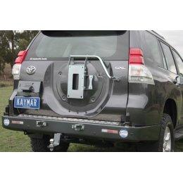 Задний бампер Kaymar Toyota LC Prado 150 2009-...