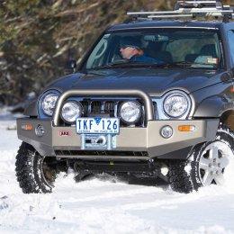 Силовой бампер ARB Delux Jeep Cherokee 2000-08
