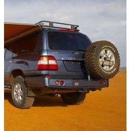 Задний силовой бампер ARB с калитками Toyota LC 100 1997-2007