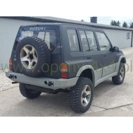 Задний силовой бампер Suzuki Vitara 1995-1997