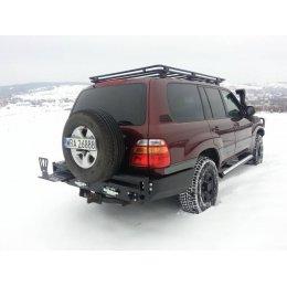Задний силовой бампер с калиткой под запаску Toyota Land Cruiser 105