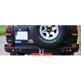 Задний силовой бампер Land Rover Discovery I