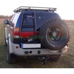 Задний силовой бампер Mitsubishi Pajero Sport 2001-2010