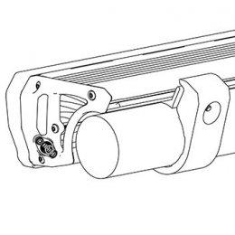Комплект креплений на бампер к трубе диаметром 60,3мм (Intensity LED Light Bar)