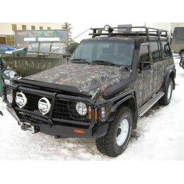 Экспедиционный багажник ARB 2200х1250 с сеткой Nissan Patrol Y60