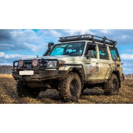 Экспедиционный багажник ARB 2200x1250 с сеткой Toyota Land Cruiser 76
