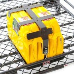 Крепление ARB для 2х канистр на экспедиционный багажник