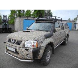 Экспедиционный багажник 1330х1250 Nissan NP300 D22