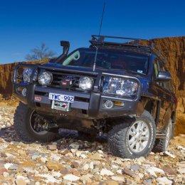 Силовой бампер ARB Delux Toyota LC 200 2012-2015