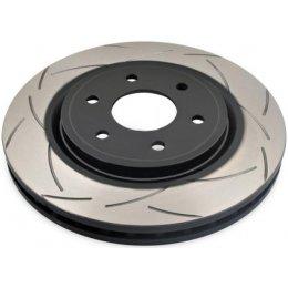 Задний тормозной диск DBA T2 Slot Jeep Wrangler JK