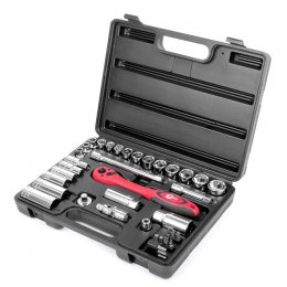 Набор инструмента INTERTOOL ET-6039 (39 ед)