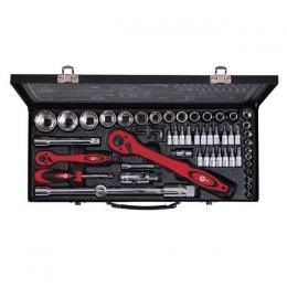 Профессиональный набор инструмента INTERTOOL ET-6056 (56 ед)