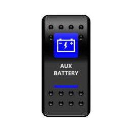 Тумблер AUX Battery под реле Gruner (тип A)