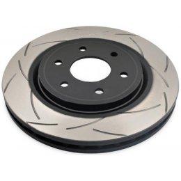 Передний тормозной диск DBA T2 Slot Nissan Navara D40