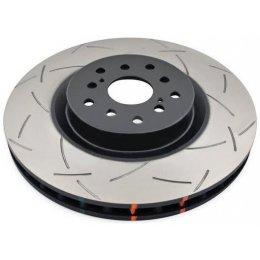 Передний тормозной диск DBA T3 Slotted Nissan Navara D40