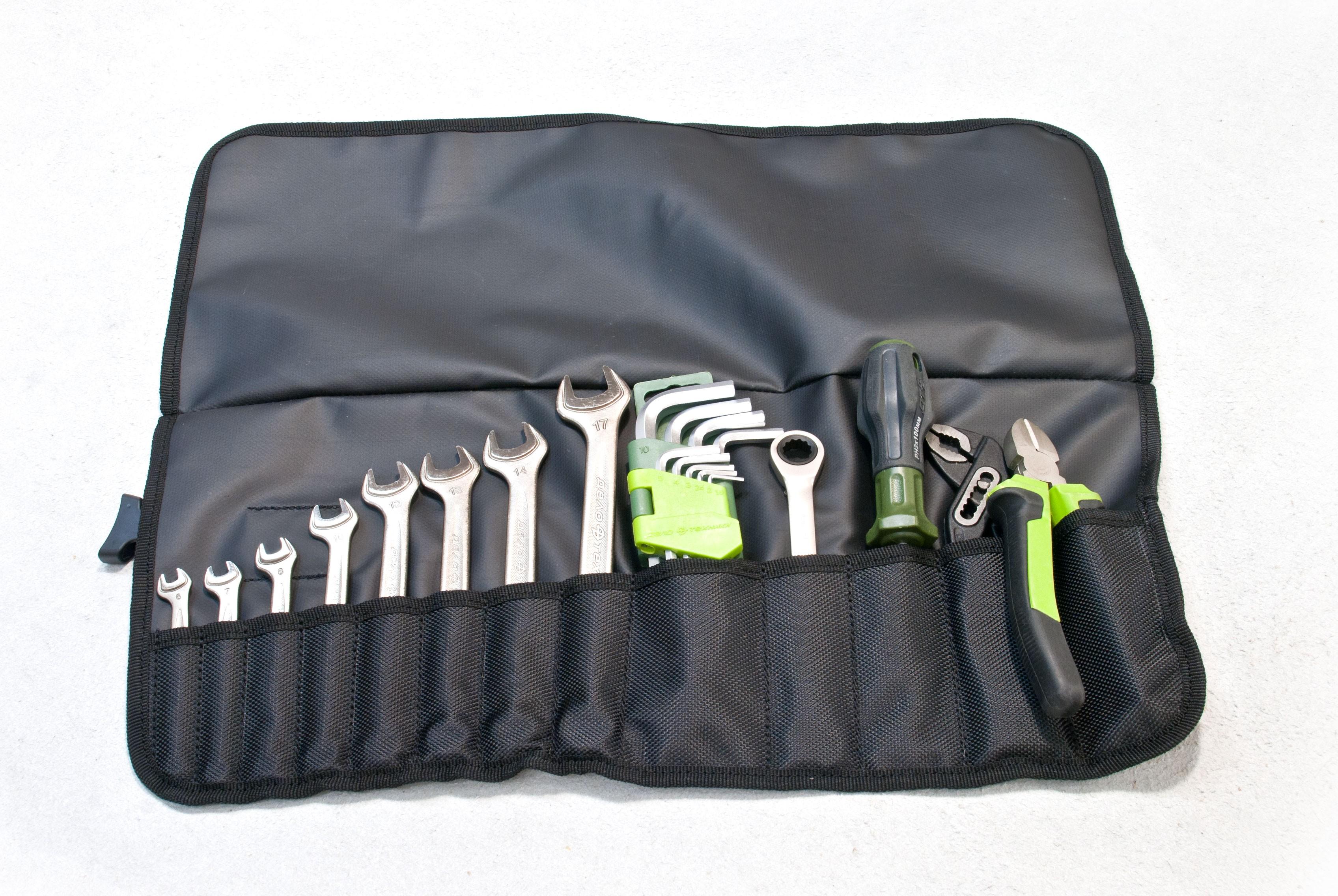Компактная сумка скрутка для инструмента ToolRoll